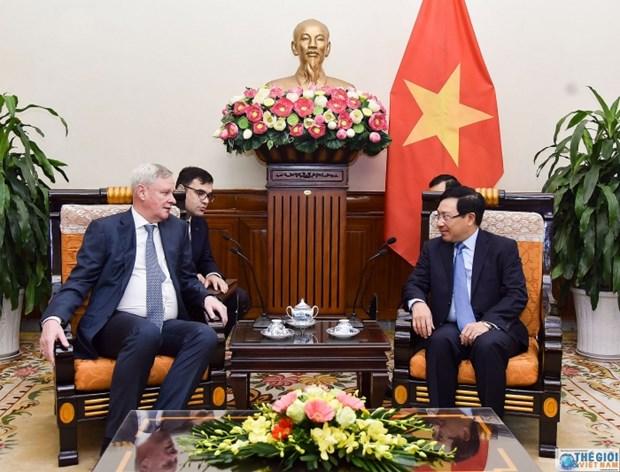 Pour approfondir le partenariat strategique integral Vietnam-Russie hinh anh 1