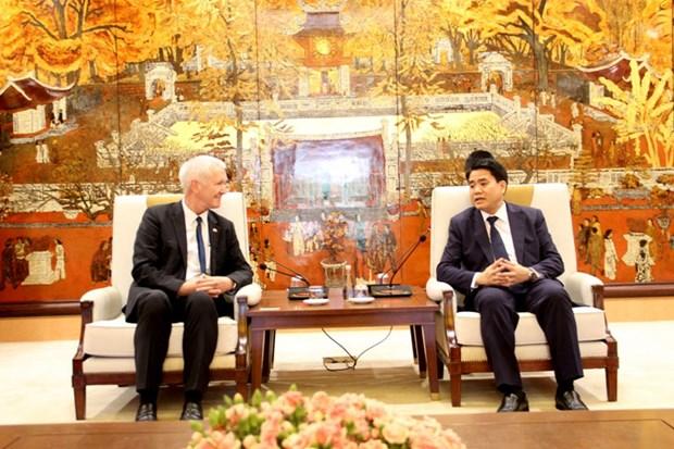 Hanoi veut promouvoir sa cooperation avec les localites suisses hinh anh 1