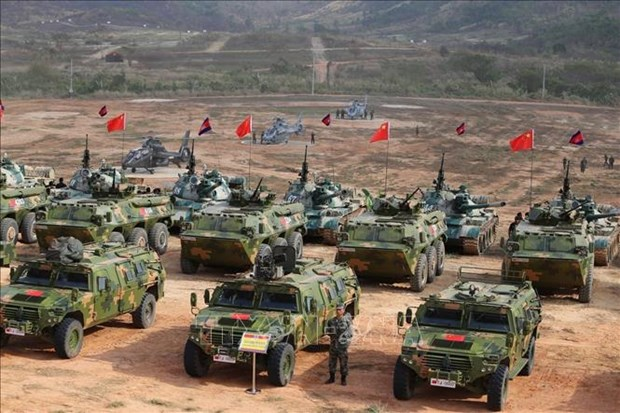 Cambodge et Chine demarrent leur exercice militaire annuel Dragon d'or 2020 hinh anh 1