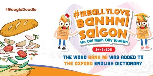 Google Doodle honore le banh mi (sandwich vietnamien) du Vietnam hinh anh 2