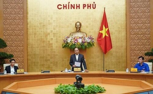 Le Premier ministre exhorte les jeunes a participer a la lutte contre le COVID-19 hinh anh 1
