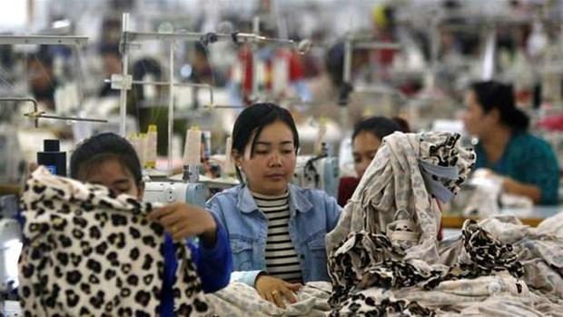 Les travailleurs du secteur textile au Cambodge fortement touches par le COVID-19 hinh anh 1