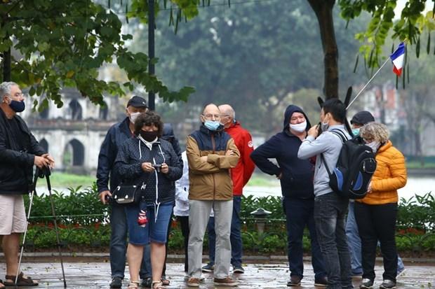 Le nombre de visiteurs etrangers au 1er trimestre en baisse de 18,1% en variation annuelle hinh anh 1