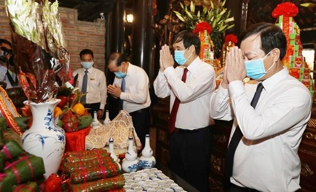 Fete en commemoration des ancetres legendaires du Vietnam hinh anh 1