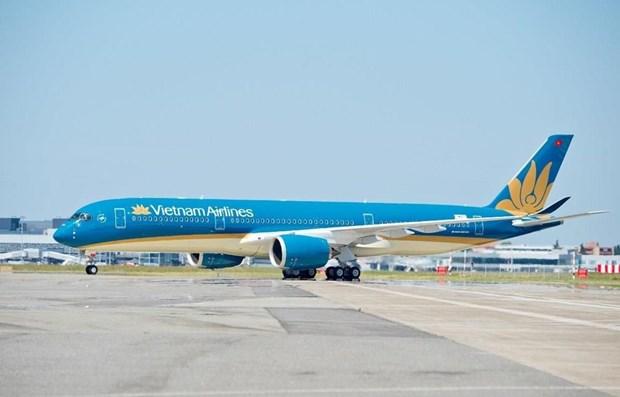 COVID-19: Vietnam Airlines limite le nombre de passagers sur les vols a destination de HCM-V hinh anh 1
