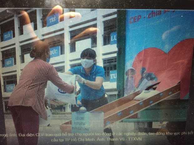 COVID-19 : plus de 6,3 milliards de dongs pour soutenir les travailleurs hinh anh 1
