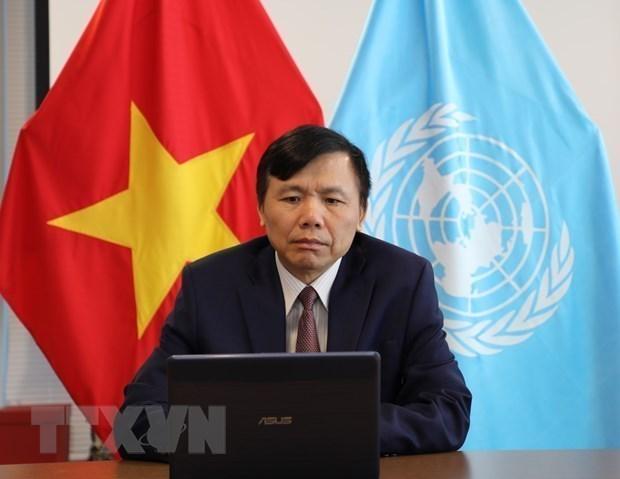 Le Vietnam appelle a une cooperation internationale intensifiee en faveur des jeunes a l'ONU hinh anh 1