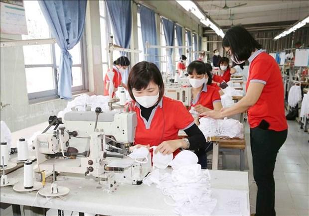 Le secteur de textile-habillement cherche a exporter des masques hinh anh 1