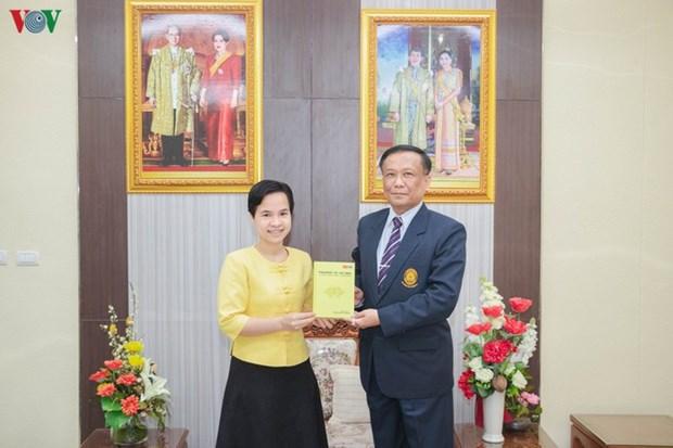 Publication en Thailande d'une version en anglais d'un livre sur le President Ho Chi Minh hinh anh 1