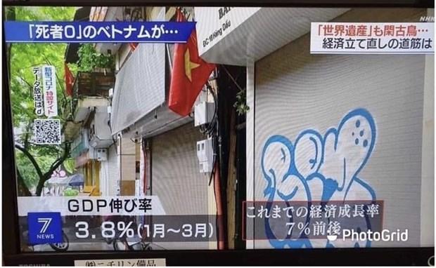 La chaine de television japonaise NHK salue la lutte contre le COVID-19 au Vietnam hinh anh 1