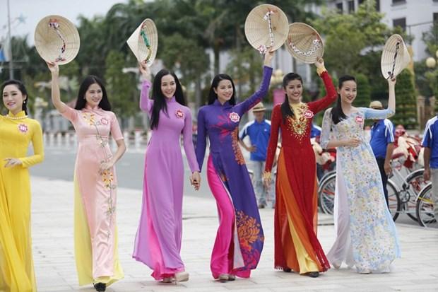 La fete de l'Ao dai Hoi An-beaux paysages du Vietnam ce week-end hinh anh 1