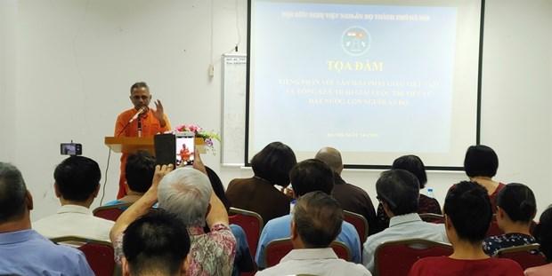 Echange de vues « sanskrit dans la culture bouddhique vietnamienne » a Hanoi hinh anh 1
