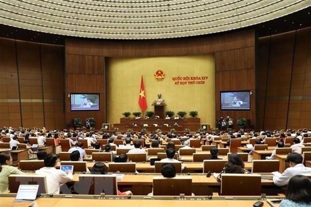 L'Assemblee nationale doit voter quatre projets de loi mercredi hinh anh 1