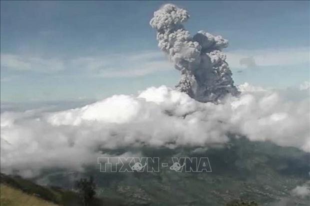 Indonesie : L'eruption du volcan Merapi, la plus haute alerte de vol emise hinh anh 1