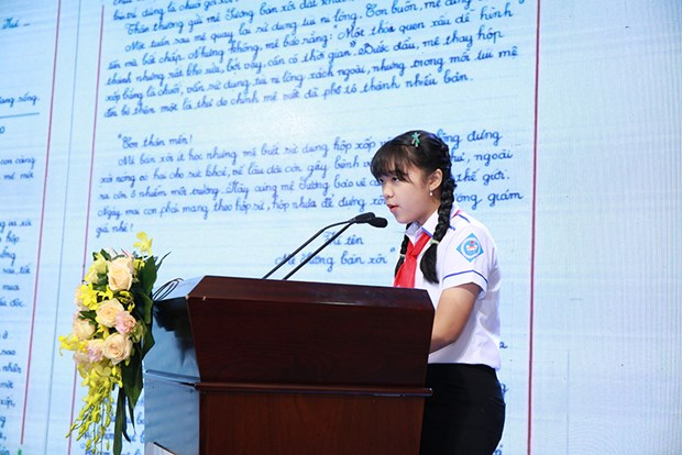 Remise des prix du 49e concours de composition epistolaire de l'UPU hinh anh 1