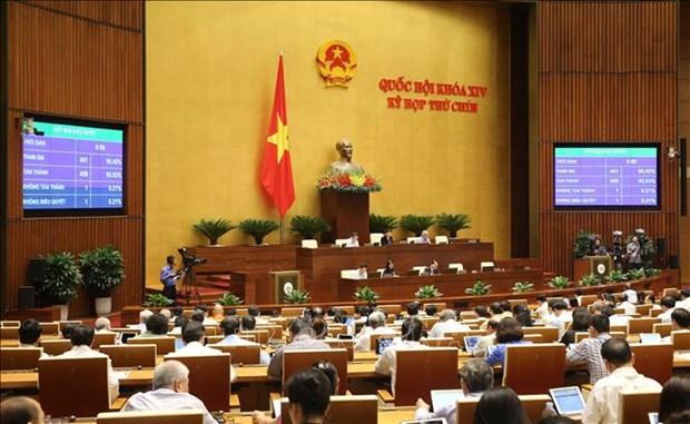 L'Assemblee nationale promulgue une resolution concernant l'EVIPA hinh anh 1