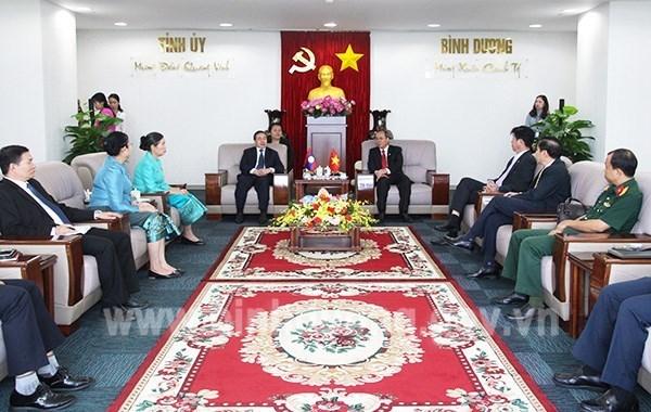 La province de Binh Duong promeut ses liens avec les localites lao hinh anh 1