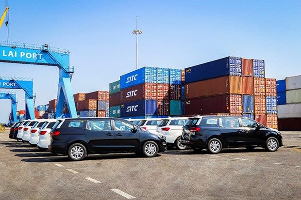 Thaco exporte son 2e lot de voitures touristiques en Thailande hinh anh 1