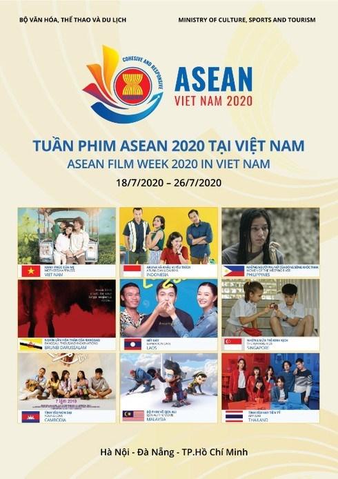 La Semaine du film de l'ASEAN 2020 saluant l'Annee de presidence de l'ASEAN hinh anh 1