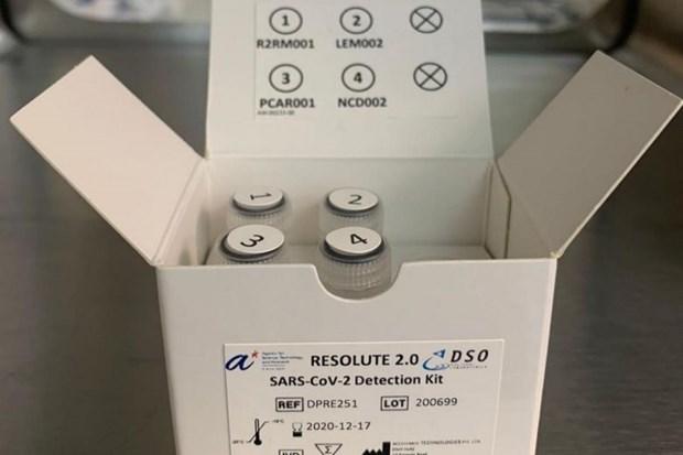 Singapour developpe un nouveau kit de test rapide de Covid-19 hinh anh 1