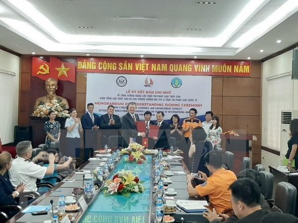 Vietnam-Etats-Unis: renforcement de la competence d'application de la loi des produits aquatiques hinh anh 1