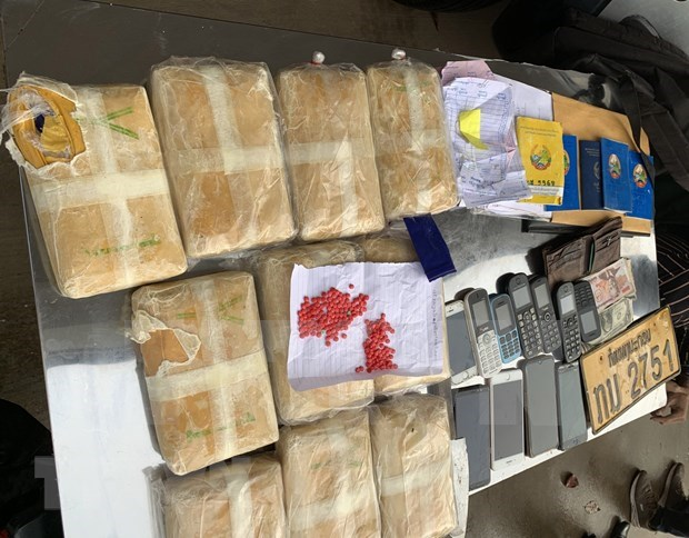 Demantelement d'un important reseau de trafic de drogue du Laos vers le Vietnam hinh anh 1