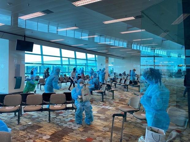COVID-19 : rapatriement plus de 240 citoyens vietnamiens de Singapour hinh anh 1