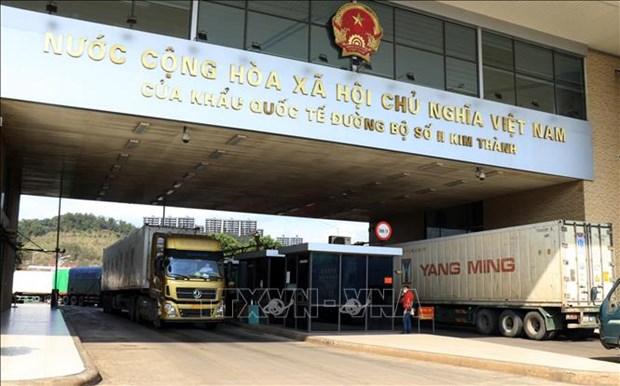 Des mesures pour promouvoir les echanges commerciaux Vietnam-Chine en discussion hinh anh 1