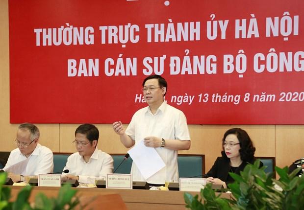 Hanoi vise la premiere place nationale en termes d'e-commerce hinh anh 1
