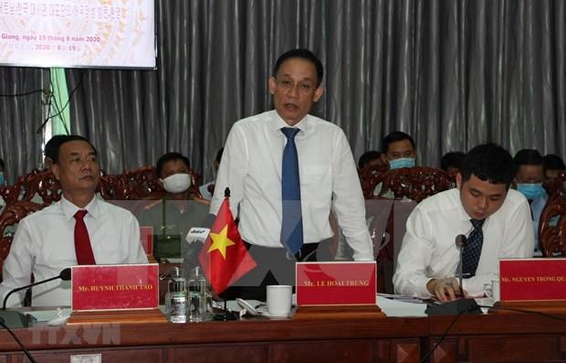 Hau Giang promeut la cooperation multiforme avec la Republique de Coree hinh anh 1