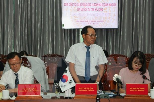 Hau Giang promeut la cooperation multiforme avec la Republique de Coree hinh anh 2