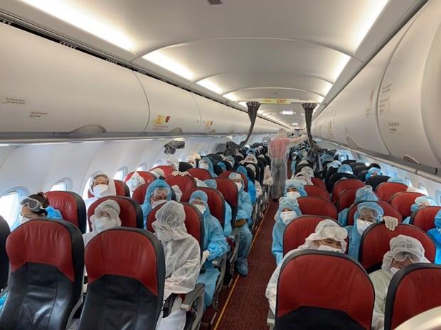 Vietjet Air et ses vols pour rapatrier des ressortissants vietnamiens bloques a l'etranger hinh anh 2