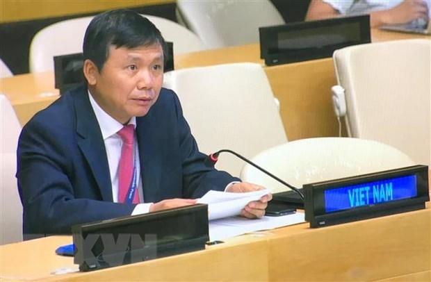 ONU : le Vietnam a une visioconference sur la protection des infrastructures face aux cyberattaques hinh anh 1
