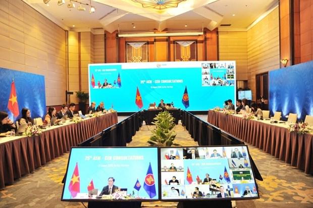 L'ASEAN donne la priorite aux mesures favorisant la relance economique hinh anh 1
