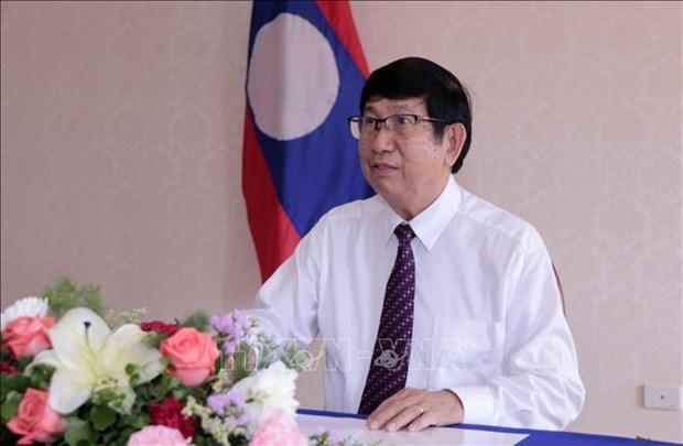 Un expert laotien apprecie l'initiative de l'organisation de l'AIPA 41 en ligne par le Vietnam hinh anh 1