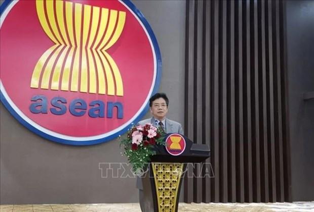 AMM 53 : la Chine apprecie la presidence vietnamienne de l'ASEAN hinh anh 1
