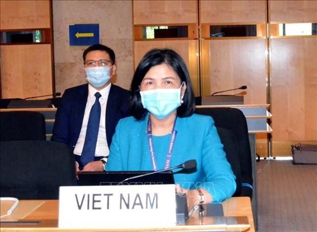 Le Vietnam a la 45e session du Conseil des Droits de l'homme de l'ONU hinh anh 1