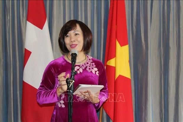 Le Parti suisse du travail celebre la Fete nationale du Vietnam hinh anh 1