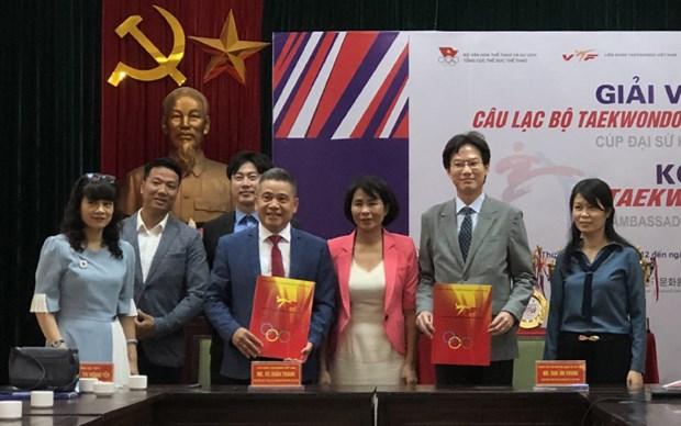 La Republique de Coree assiste le Vietnam dans son developpement de taekwondo hinh anh 1