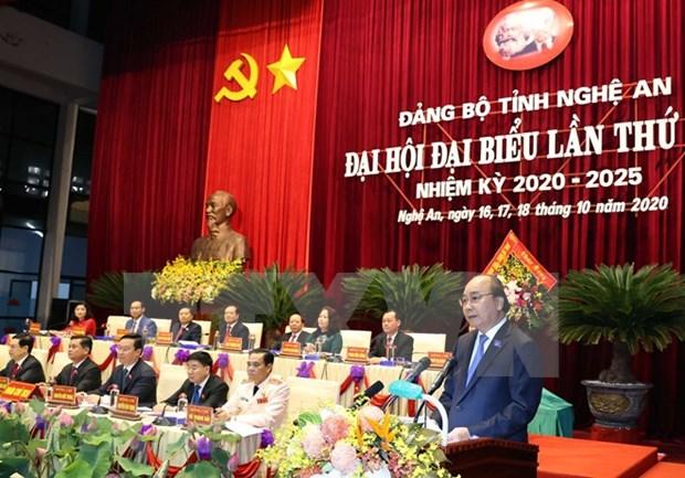 La province de Nghe An exhortee a promouvoir la connexion entre regions economiques hinh anh 1