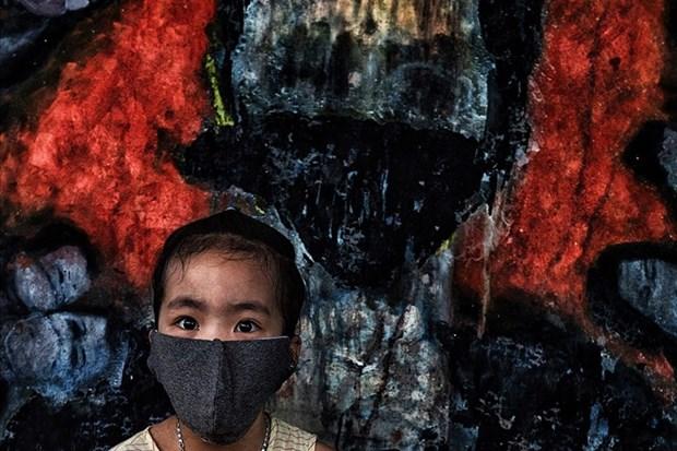 """Un cliche d'un photographe du journal Lao Dong presente au salon """"Connected World: 2020"""" hinh anh 1"""