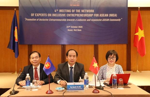 Reunion du Reseau d'experts sur l'entrepreneuriat inclusif pour l'ASEAN hinh anh 1