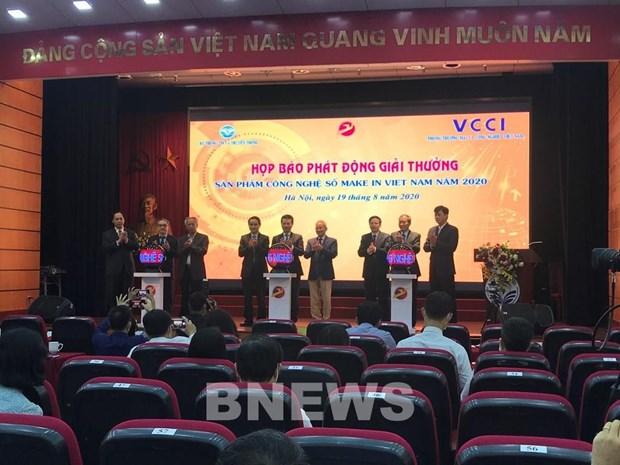 239 produits en lice au prix « Produits technologiques numeriques Make in Vietnam » hinh anh 1