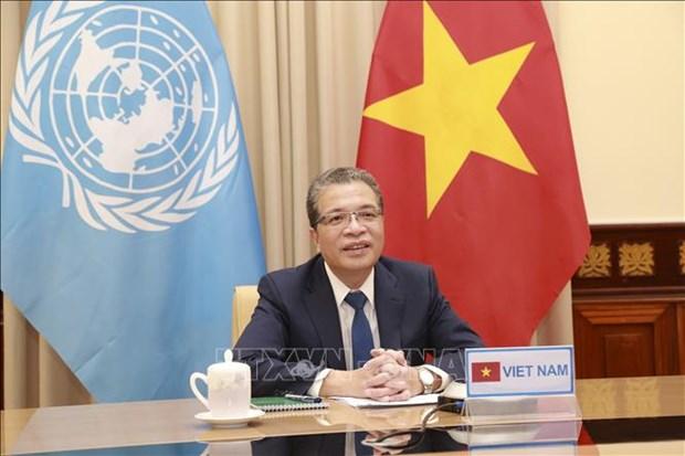 Le Vietnam appelle la communaute internationale a soutenir les Palestins a surmonter la crise hinh anh 1