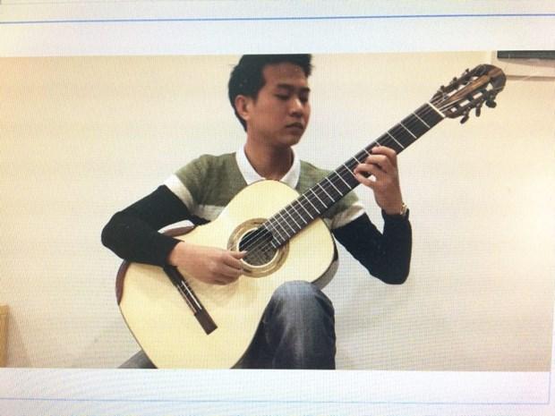 Un Vietnamien prime au concours de la guitare de Berlin 2020 hinh anh 1