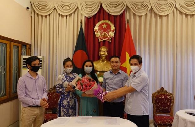 Le Comite de liaison des Vietnamiens au Bangladesh voit le jour hinh anh 1
