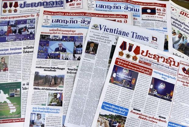 Le 37e Sommet de l'ASEAN et des reunions connexes largement couverts par la presse aseanienne hinh anh 1