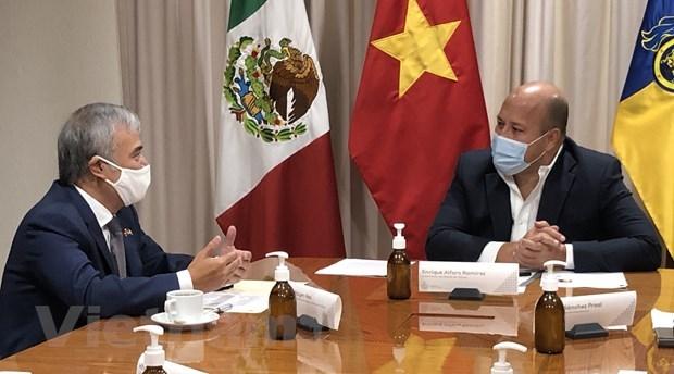 Le Vietnam promeut les relations commerciales avec l'Etat mexicain de Jalisco hinh anh 1