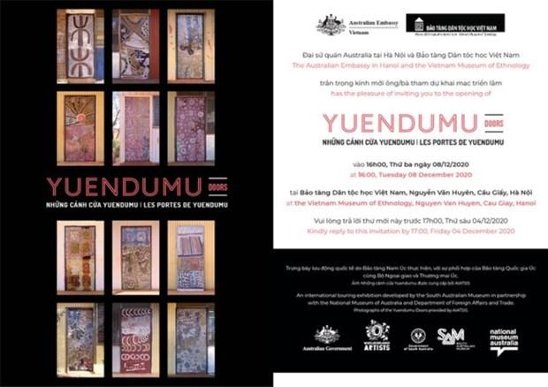 La culture aborigene d'Australie s'expose a Hanoi hinh anh 1