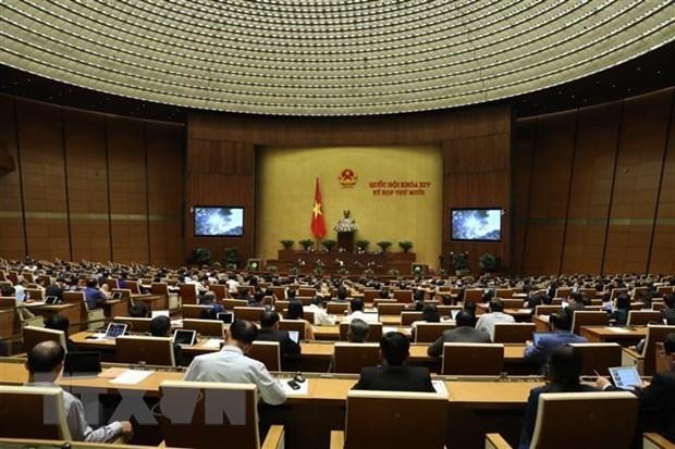 Resolution de la 10e session de la 14e legislature de l'Assemblee nationale hinh anh 1